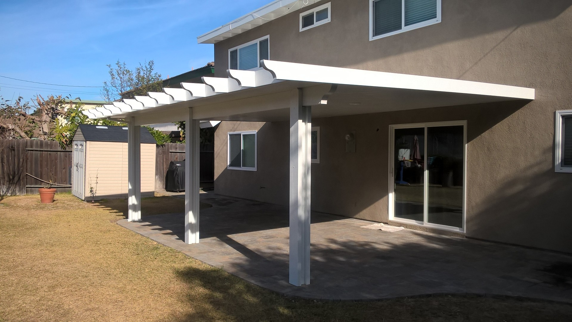 Aluminium patio covers ixtapa construction for Patio cover construction plans